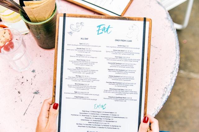 Egyedi étlapok készítése – Milyen lehetőségeid vannak?
